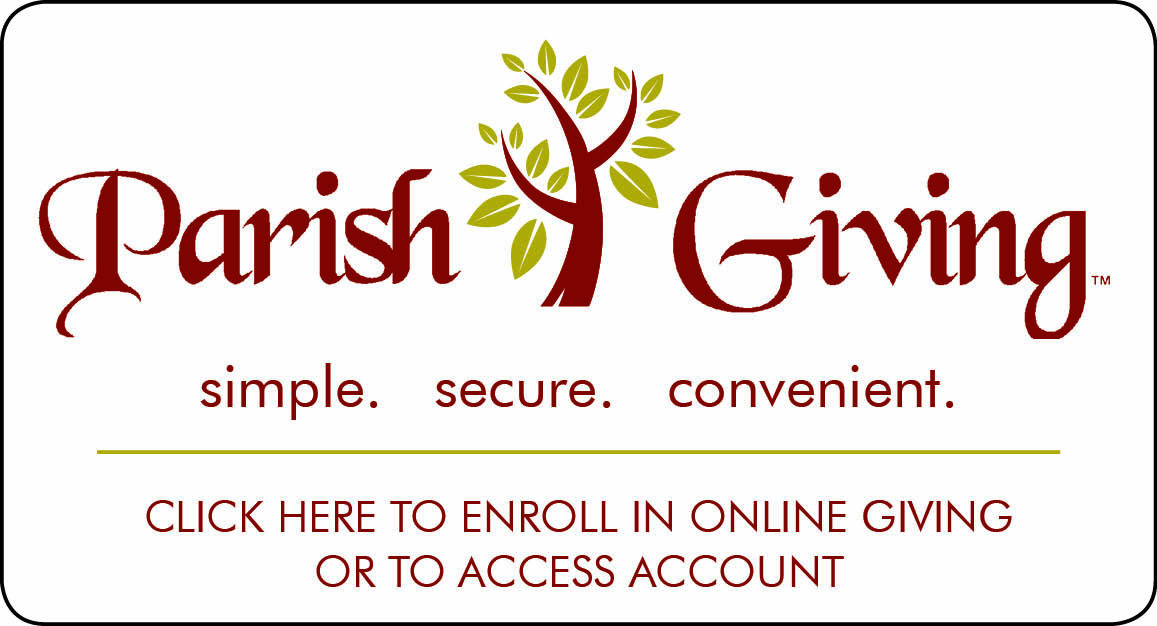 Parish Giving sign-up button